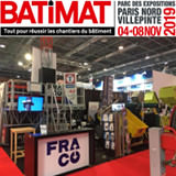 Fraco is back to Paris for Batimat
